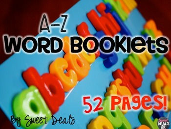 A-Z Word Booklets