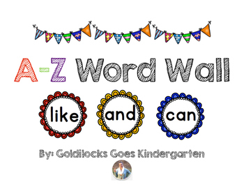 A-Z Word Wall