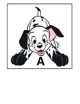 A-Z Word Wall (Dog Themed)