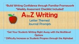 A-Z Weekly Writing Packets- Letter A