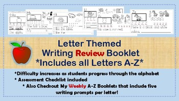 A-Z Writing Review Booklet