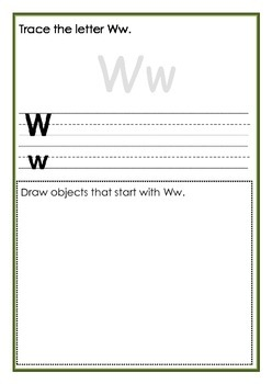 A-Z Writing Workbook