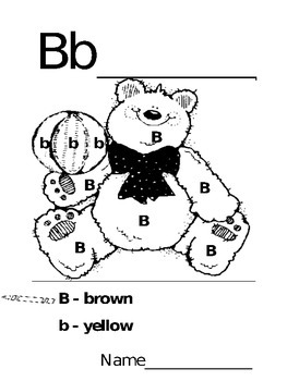 A-Z coloring pages