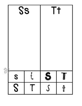 A-Z font sort