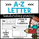 A-Z Handwriting Letter Practice