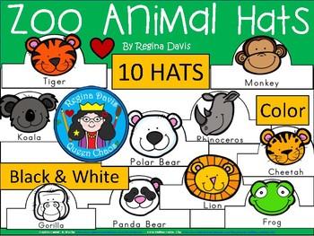 A+ Zoo Animal Hats