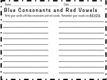 A, aCe and AR Word Study Word Sort and Activities