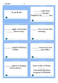 A, an, the_cards