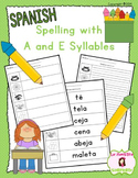 Spelling: Writing E Syllables (Spanish)