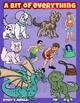 A bit of everything - Assorted clip art set