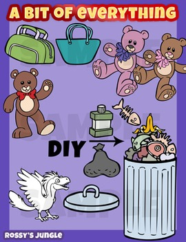 A bit of everything - Assorted clip art set