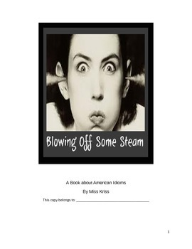 A book about American Idioms