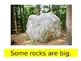 All About Rocks; A modified Science textbook