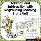 A Regrouping Math Story Unit (Dragon Eggs)
