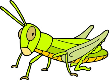 A bugs life - Not so cartoonish insects clipart - PDF version