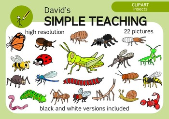 A bugs life - Not so cartoonish insects clipart with free preview