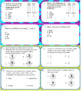Year Long 4th grade Math Task Cards. All 2016 standards included