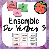 A challenging French verb tense recognition game - Ensemble de verbes 3