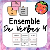 A challenging French verb tense recognition game - Ensemble de verbes 4