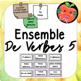 A challenging French verb tense recognition game - Ensemble de verbes 5