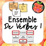 A challenging French verb tense recognition game - Ensemble de verbes
