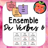 A challenging French verb tense recognition game - Ensemble de verbes 6