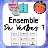 A challenging French verb tense recognition game - Ensemble de verbes 7