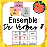 A challenging French verb tense recognition game - Ensemble de verbes 8