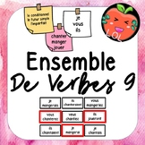 A challenging French verb tense recognition game - Ensemble de verbes 9