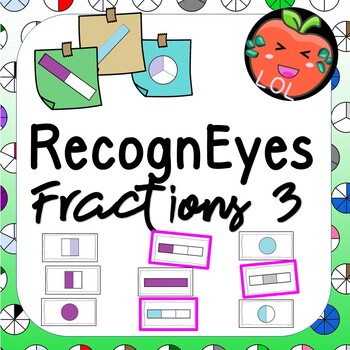 A challenging fraction recognition game - RecognEyes Fractions 3
