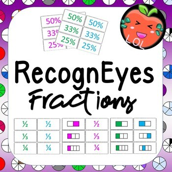 A challenging fraction recognition game - RecognEyes Fractions