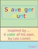 A color of his own Scavenger Hunt