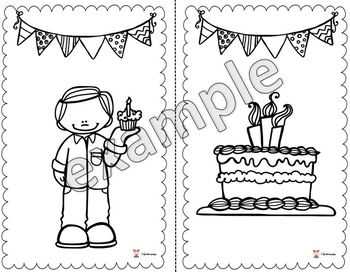 A coloring book for your birthday