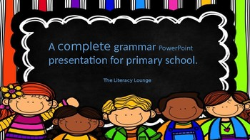 A complete grammar resource for prep to grade 6.