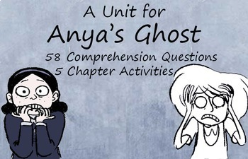 A complete unit for Vera Brosgol's graphic novel Anya's Ghost
