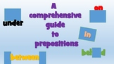A comprehensive guide to prepositions