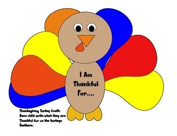 A cute Thanksgiving Craft
