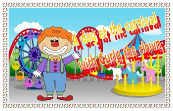 A day at the carnival with Curly the clown