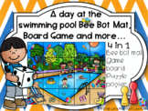 A day at the swimming pool Bee Bot Mat, Board Game and more…