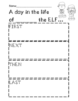 A day in the life of ___ the ELF