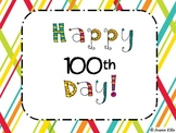A day of 100! 100th Day Activities