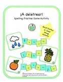 A deletrear SPANISH Spelling Practice Game Activity Printa