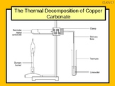 "A digital version of the Grade 6  C1 3.4 ""Thermal Decompos"