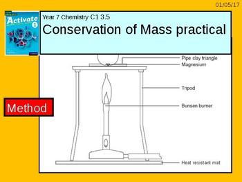 "A digital version of the Grade 6 C1 3.5 ""Conservation of Mass"" lesson."