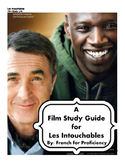 A film study unit for Les Intouchables in French and English
