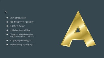 A for AAC