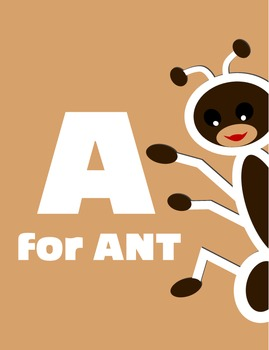 A for Ant Alphabet Book