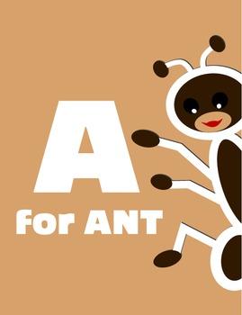A for Ant Alphabet Book