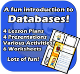 A fun intro. to Databases - Complete 4 lesson Unit - Elementary Computer Skills