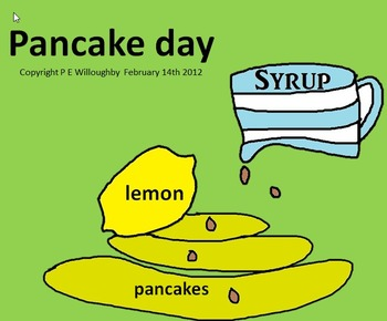 A fun song for shrove Tuesday. Why do we toss a pancake